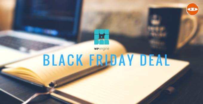 WPEngine Black Friday Sale 2016
