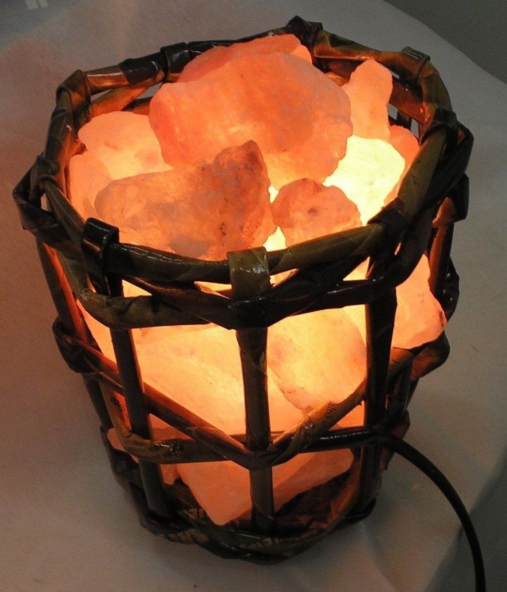 Lamparas De Sal Del Himalaya Regalo Energeticas 140 00 Lampara De Sal Del Himalaya Lamparas De Sal Lampara De Sal