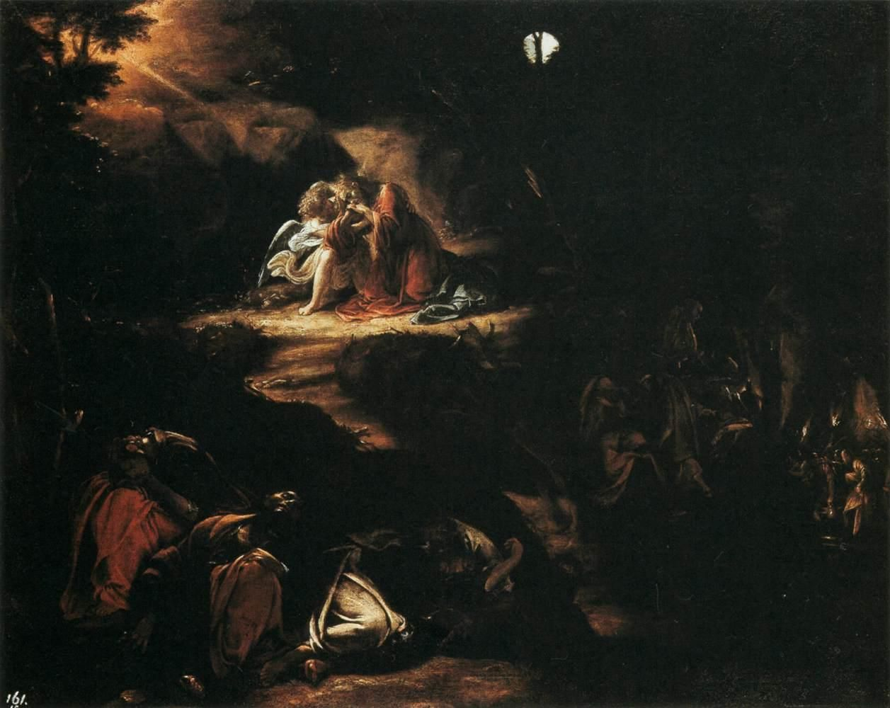 Jesus Prays in Gethsemane Jesus in Agony in the Garden of