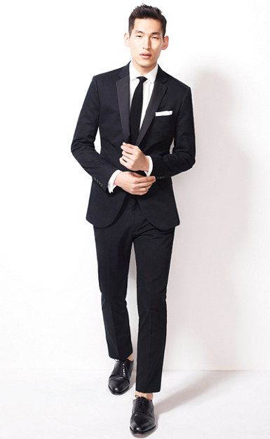 Ludlow tuxedo jacket with double vent in Italian chino