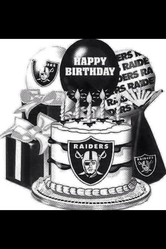 Cool Raiders Party With Images Raiders Oakland Raiders Images