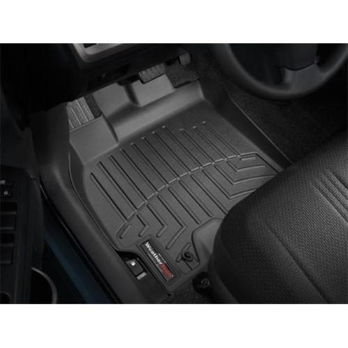 Weathertech 441381 Custom Front Floor Liner Black 2008 2014