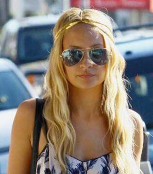 Envie d 39 une blonde et de lunettes de soleil ray ban for Lunettes de soleil ray ban aviator miroir