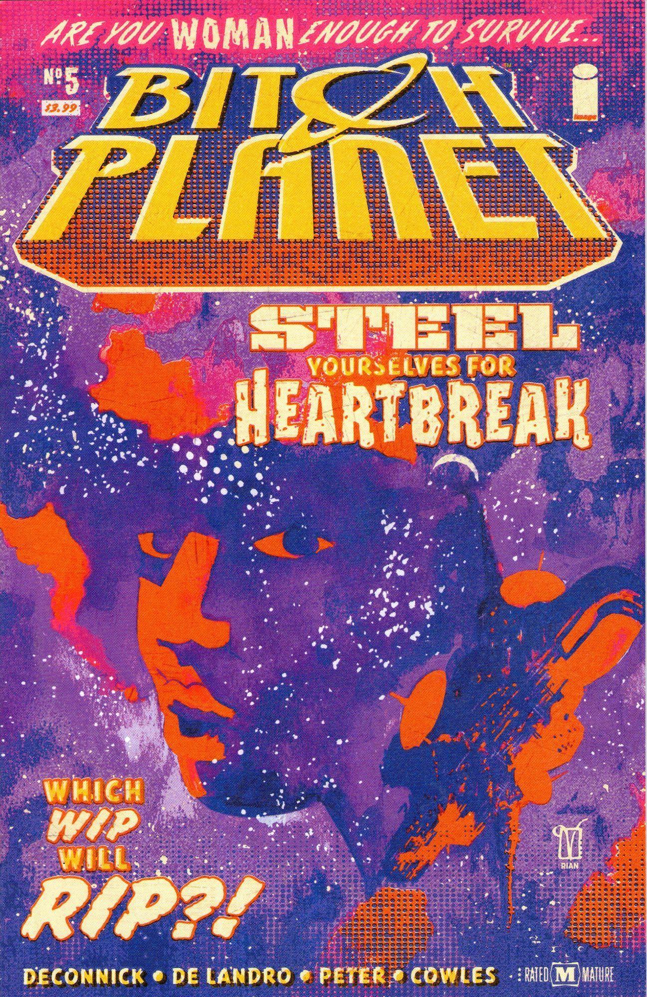 Bitch Planet #1 Regular Cover Image Comics VF-NM