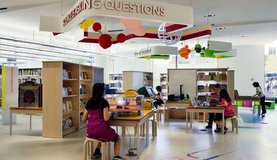 The Kid Friendly Discovery Center In New York Azure Magazine Interior Design School Interior Design Awards Best Interior Design