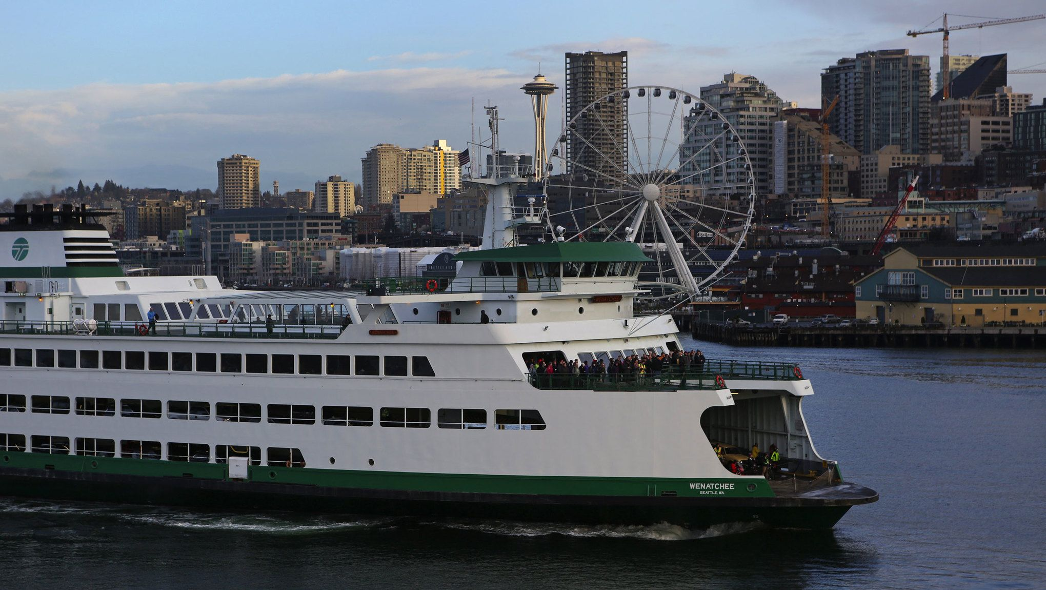 Across water and time, the ferry system connects Seattle's beginnings to the present.