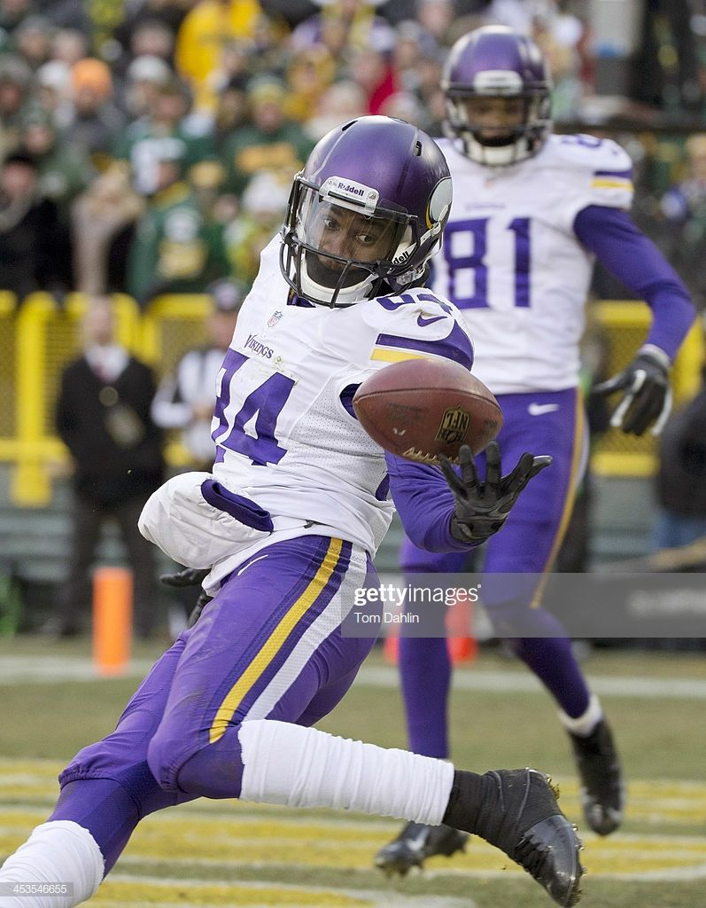 Cordarrelle Patterson Of The Minnesota Vikings Attempts A