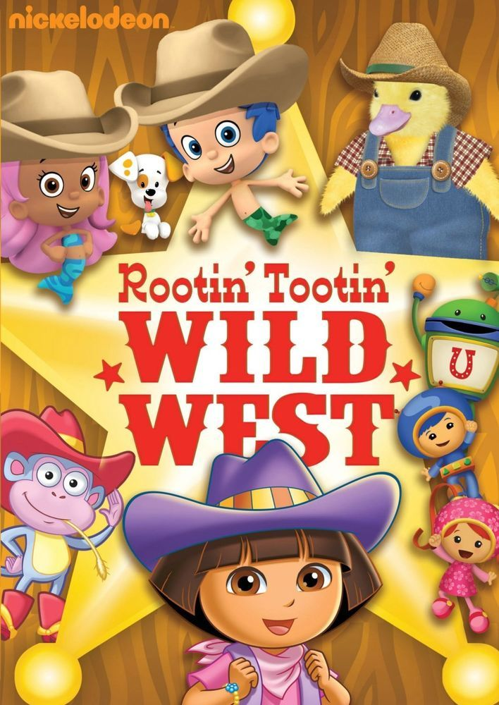 Nickelodeon Rootin Tootin' Wild West DVD New/Sealed!! Dora