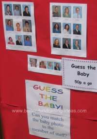 Match the baby picture to the staff picture!! | FUNdraising | School