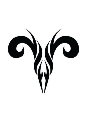 Zodiac Tattoo Designs With Image Zodiac Symbol Picture Aries Tribal