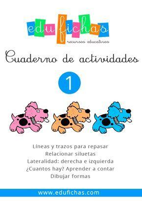Cuadernillo De Actividades En Pdf Para Descargar Http Edufichas Com Des Actividades Para Preescolar Actividades Para Niños Preescolar Actividades Educativas