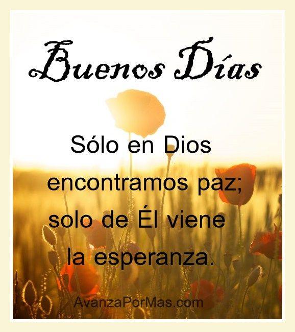 Imagenes Cristianas De Buenos Días Tarjetas De Buenos Dias
