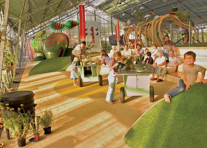 Climbers And Creepers Indoor Nature Themed Play Area At