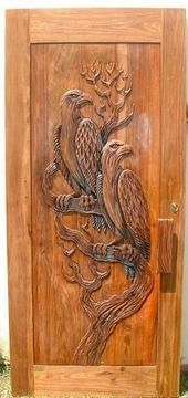 15+ ideas wooden door design houses awesome,  #awesome #Desi…