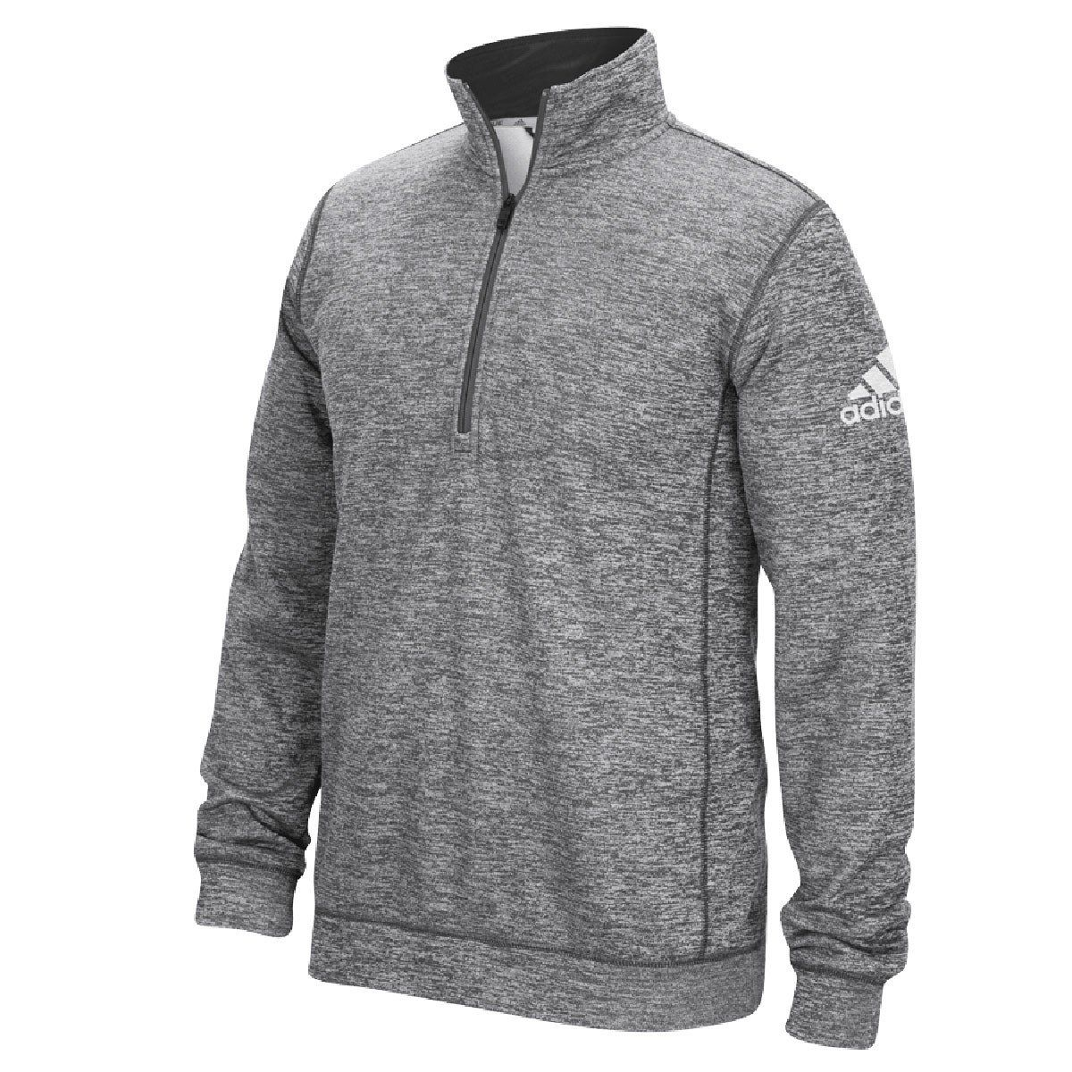 adidas 1/4 zip fleece mens