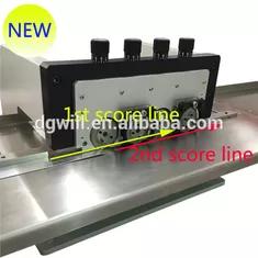 Adjustabled Vertical Led Strip Pcb Depanelizer V Groove Pcb Scoring Machine In 2020 Led Strip Led Led Board