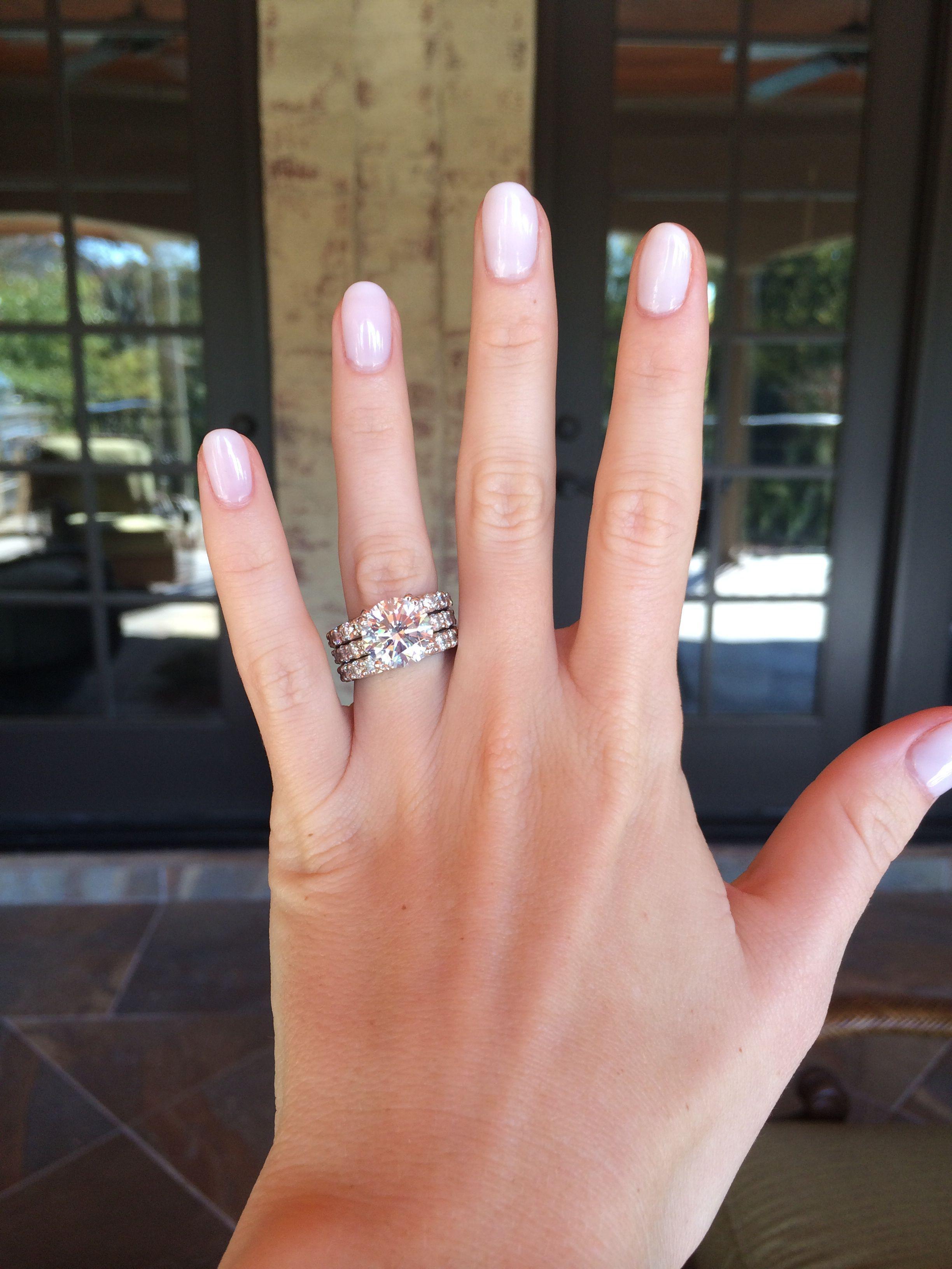 5 carat diamond engagement ring round brilliant | Diamond Engagement ...