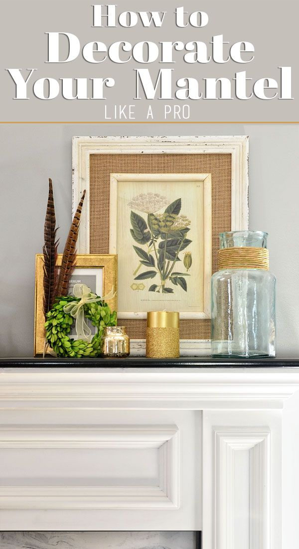 How To Decorate Your Mantle Like A Pro Decor Fireplace Mantel Decor Wood Wall Art Diy