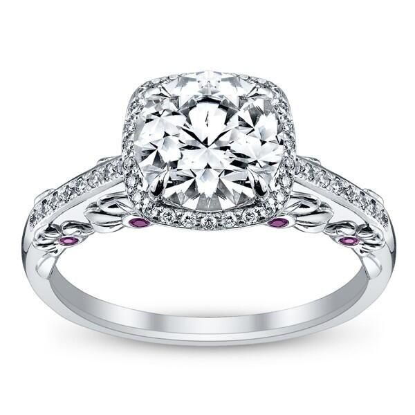 The most beautiful engagement ring I've ever seen!! LOVE!!!