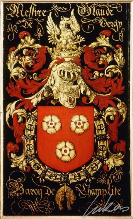 Armorial plates from the Order of the Golden Fleece | Claude de Vergy, Comte de Gruères