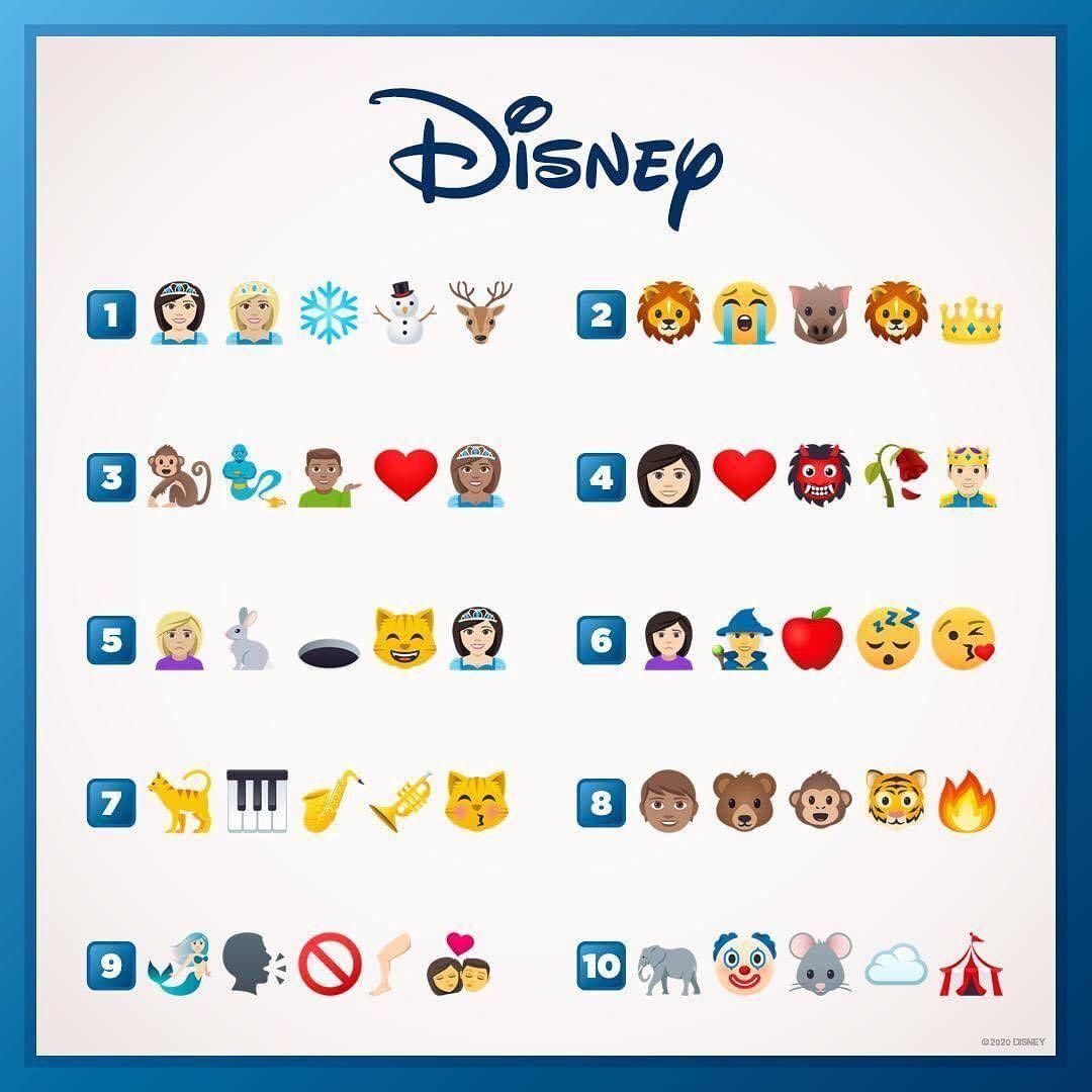 My Pixie Dust On Instagram How Many Can You Guess Toystory Mypixiedust Disneylandparis Disneyprincesses Disne In 2020 Disney Quiz Guess The Movie Emoji Quiz