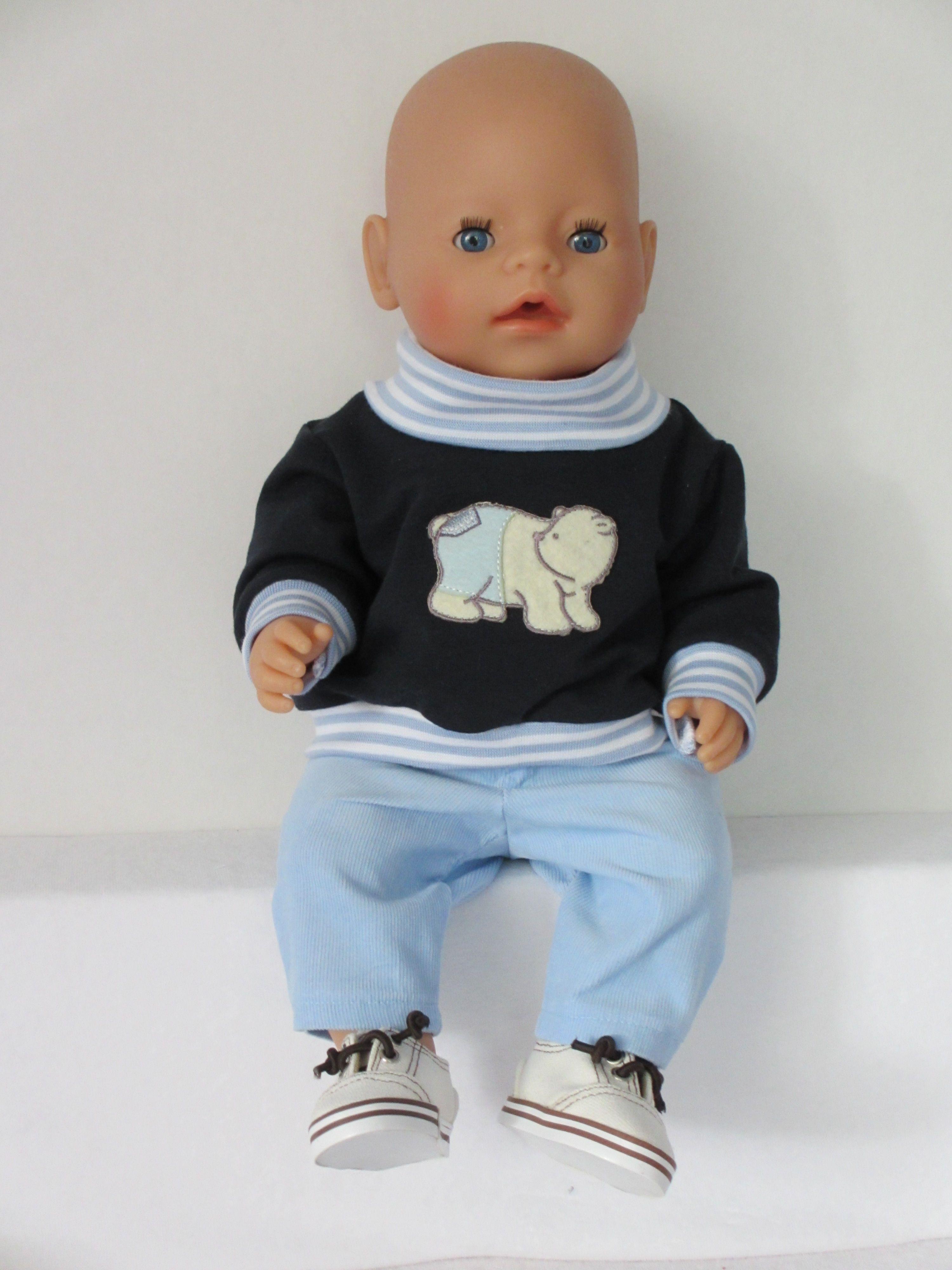 Voor Baby Born Boy Een Lief Setje Poppenkleertjes Babypop Kleding Jongensoutfits