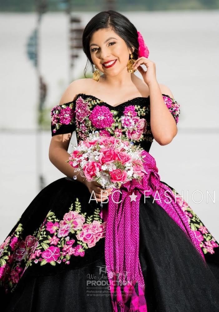 8f93764a53 Floral Charro Quinceanera Dress by Ragazza Fashion Style MV15-115-Ragazza  Fashion-ABC Fashion