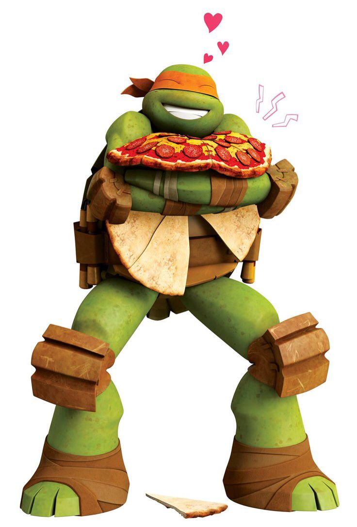 Your Going To Kill The Pizza Mikey TMNT Pinterest