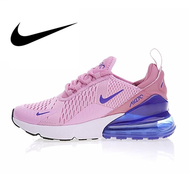 Nike Air Max 270 Women's Breathable Running Shoes Sneakers Sport Outdoor Athletic 2018 New Women Designer Sneakers AH8050 2