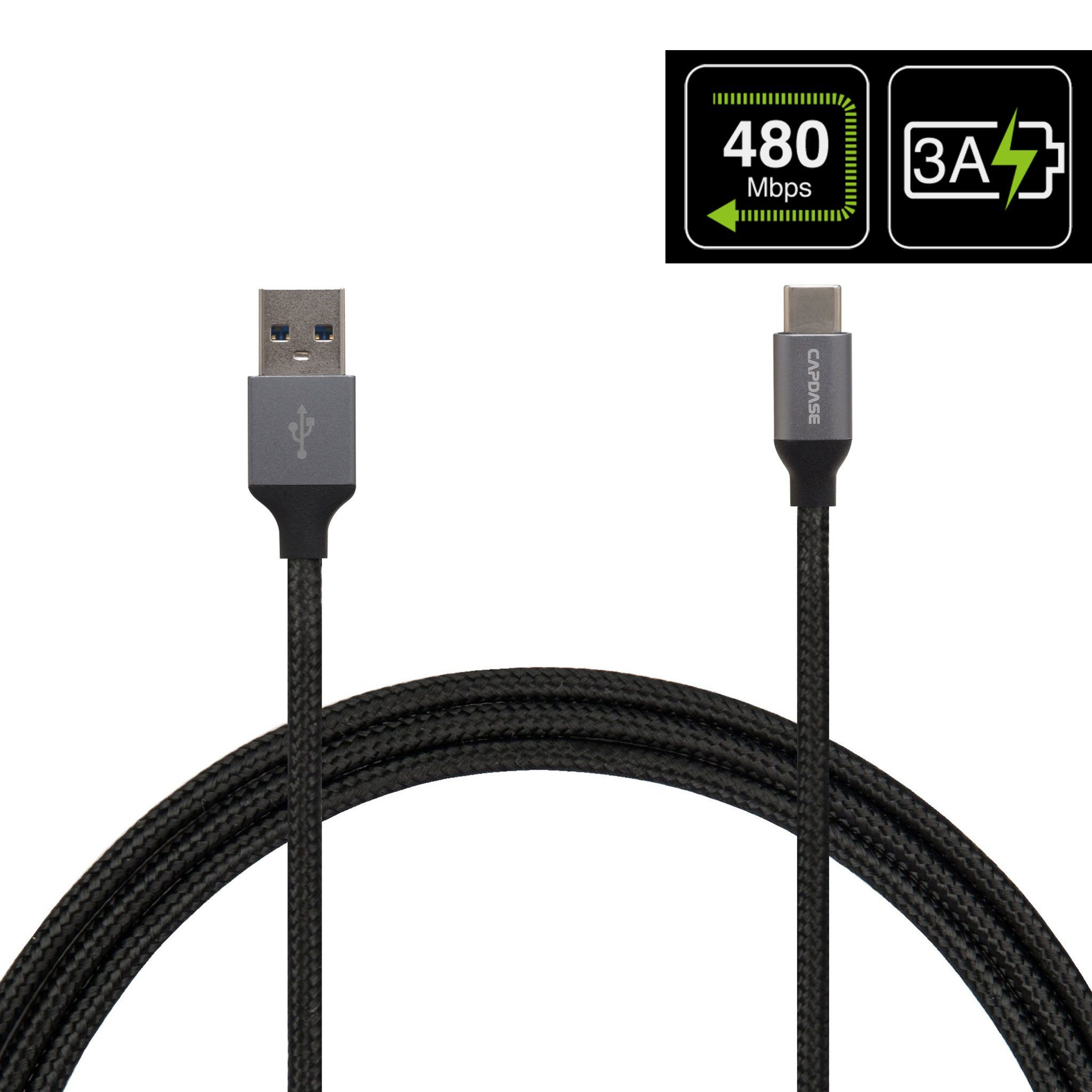 Metallic Ca4m Usb C To Usb A Sync And Charge Cable 1 5m Charge Cables Sync Usb