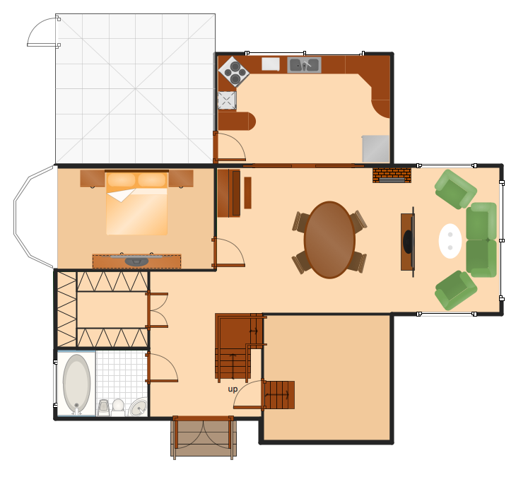 Houseplan Sample Drawing Technical House Floor Plans Home