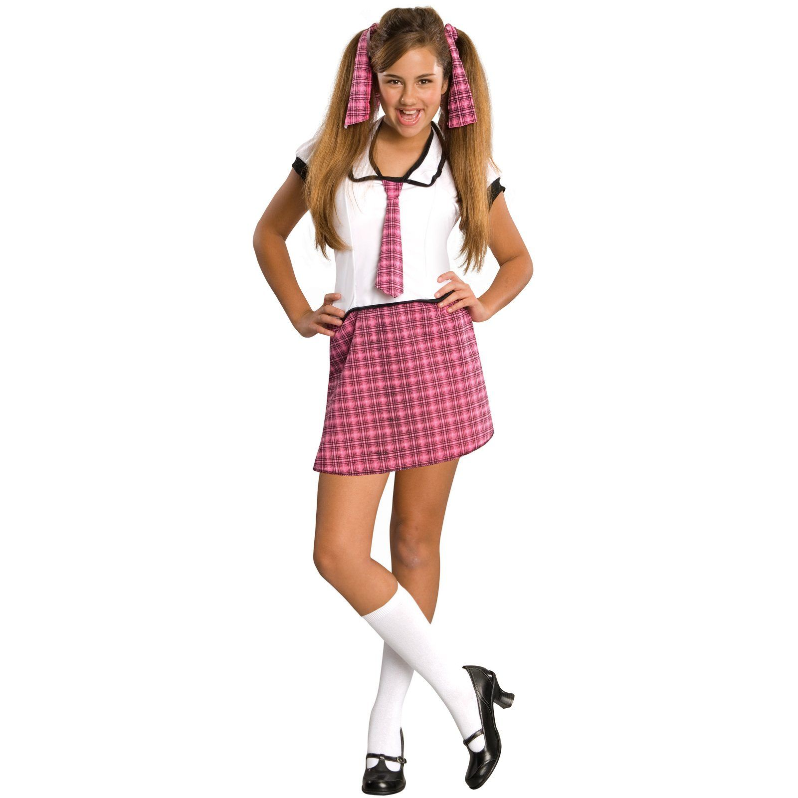 tween costumes for girls | cheap school girl tween costume at