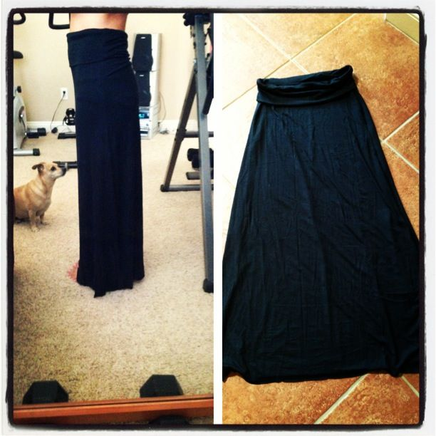diy maxi skirt sew what
