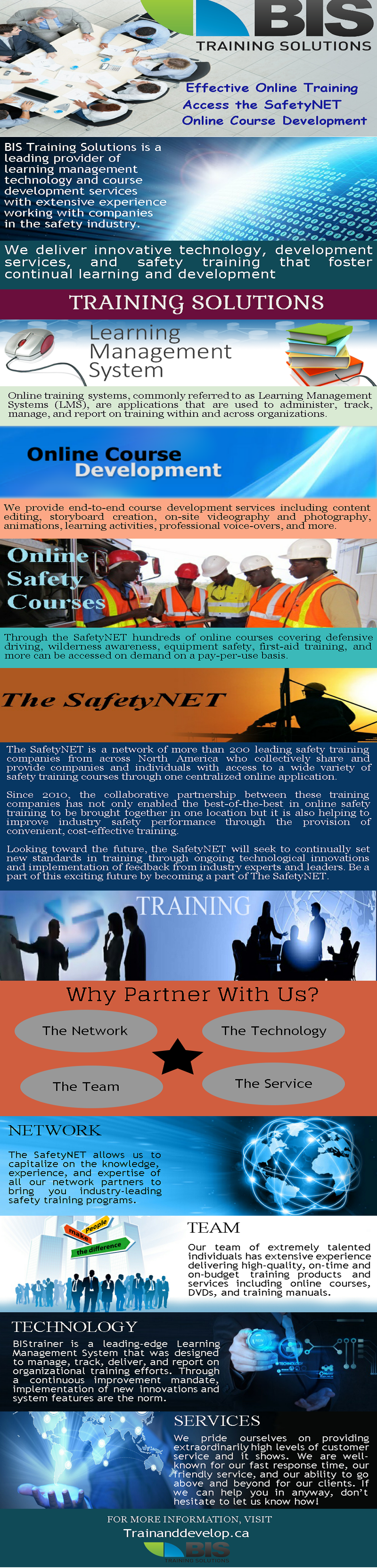 BIS training Solutions Effective Online & Safety