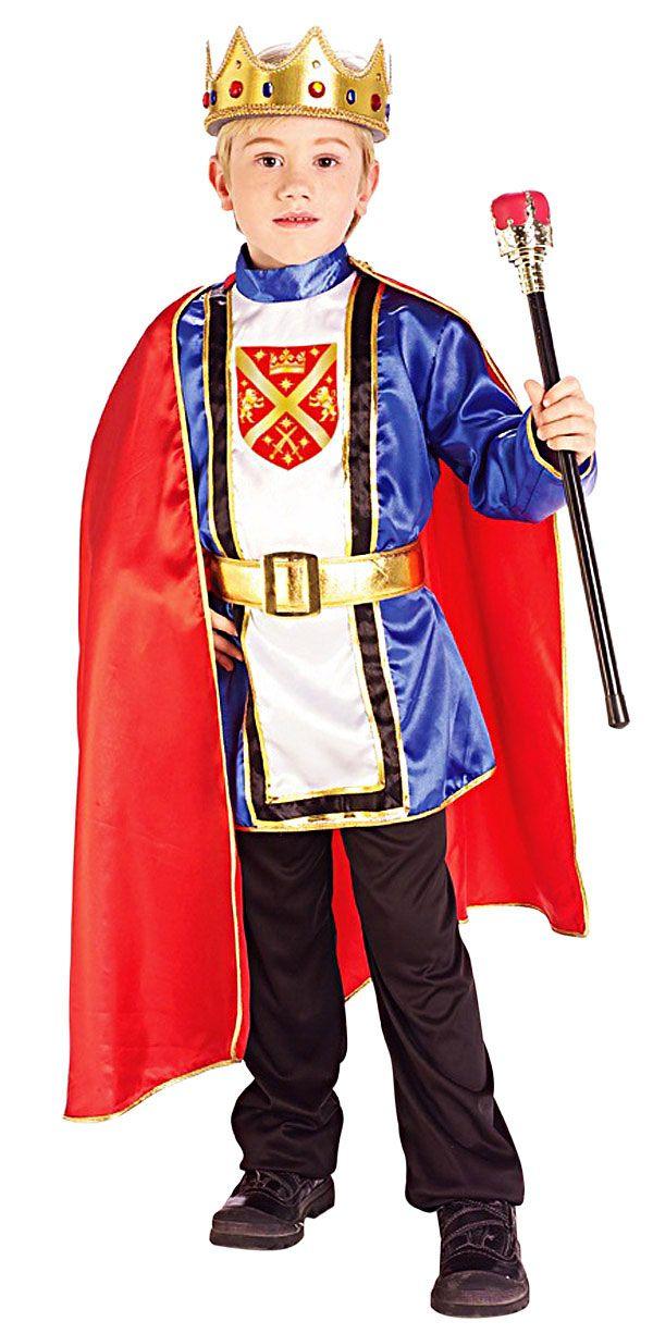928f4fec1918f Kids Royal King Costume - Medieval or Renaissance Costumes | kings ...