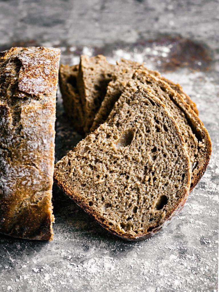 Easy Overnight Spelt Rye Bread Recipe Rye bread, Bread