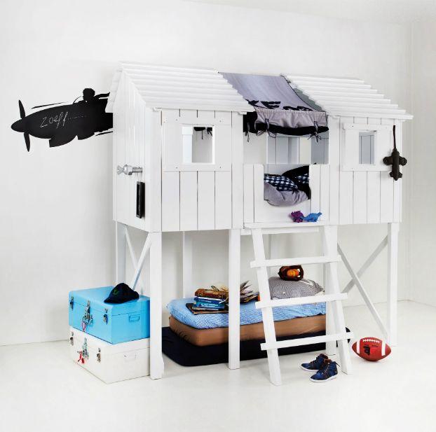 10 Fabulous Boys' House Beds - Decoholic
