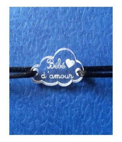 Bracelets bebe cordon
