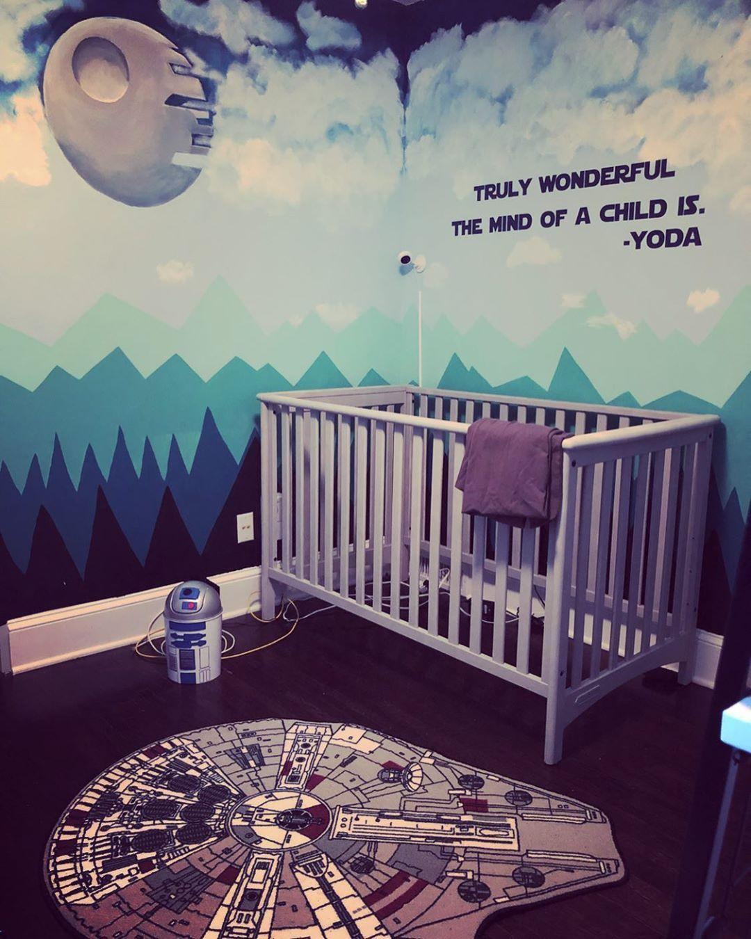 Pin By Brejohn Mccrary On Just Baby Things In 2020 Star Wars Nursery Star Wars Baby Room Star Wars Kids Room