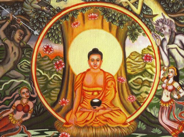"""Buddhism avoids paying much attention to deities, but places great importance on self-discipline, meditation and compassion. It is through these avenues that its followers achieve the equivalent of a spiritual union with higher powers. As a result, Buddhism is sometimes regarded more as a philosophy than a religion [source: Losch]."""" - Discovery.com"""