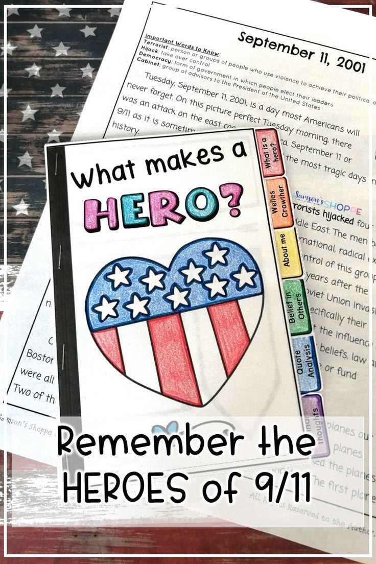 September 11 Patriot Day Bundle Of Activities Patriots Day Activities School Activities