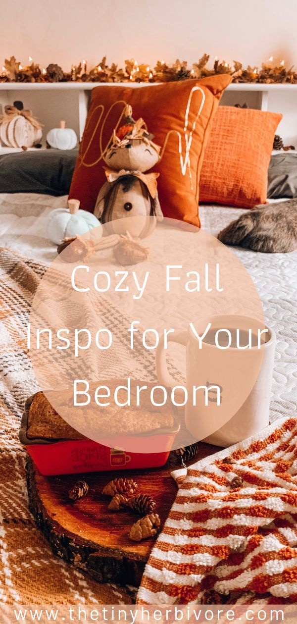 Fall Guest Bedroom with Christmas Tree Shops andThat