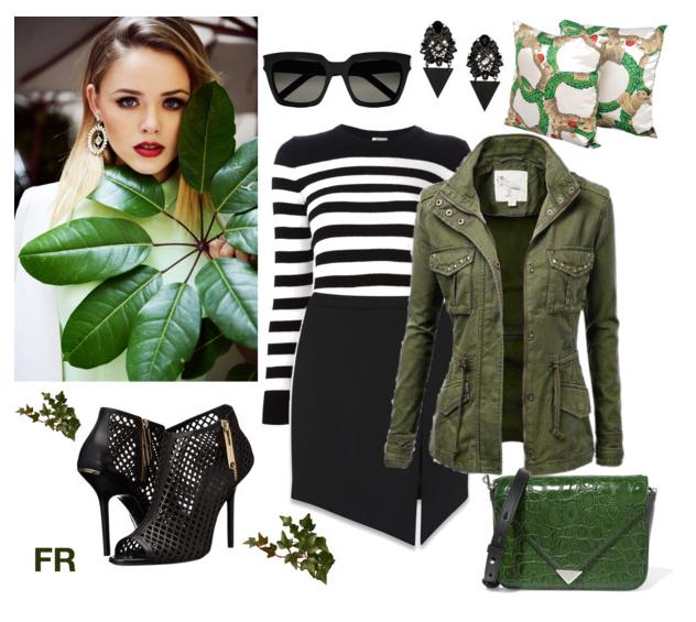 P&B + Militar Green