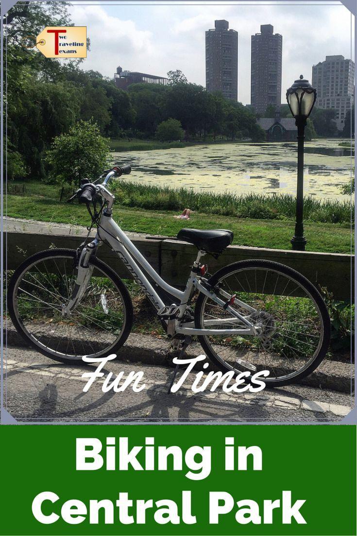 Fun times biking in central park a discount code