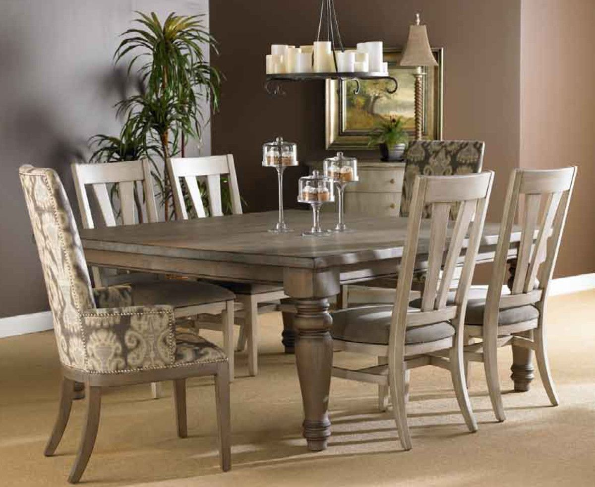 Trend alert: Gray-Day 1 | Farmhouse dining room table ...