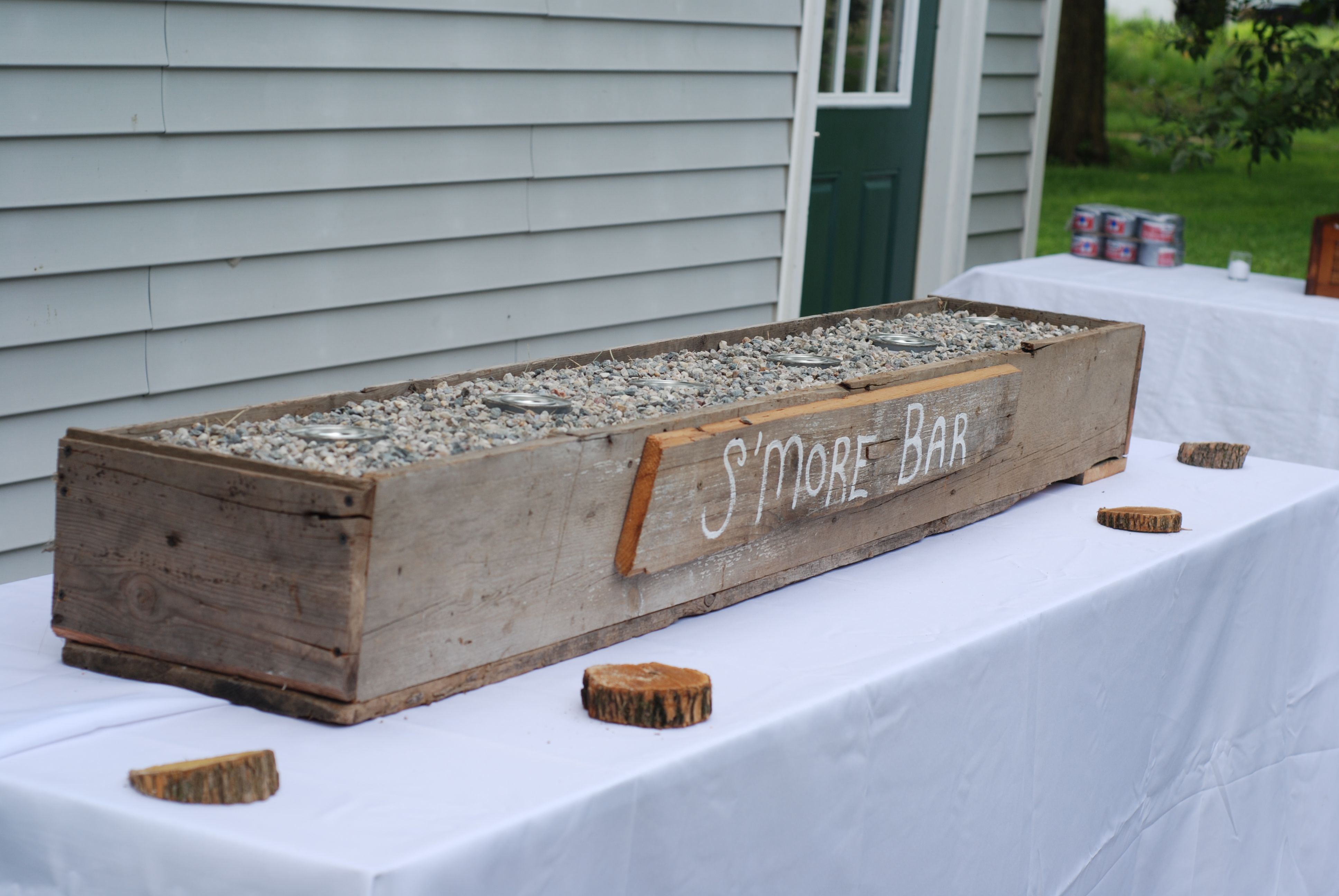smore bar was a big hit, email for instructions on how to put it together