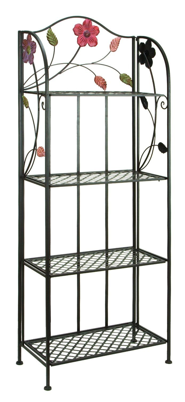 Amazon Com Deco 79 63065 Metal Bakers Rack 25 By 68 Inch