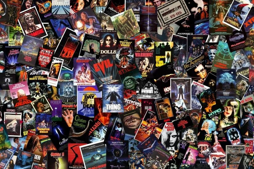 80s Wallpaper 2560x1600 Ipad Movie Collage Horror Movies Horror Movie Posters