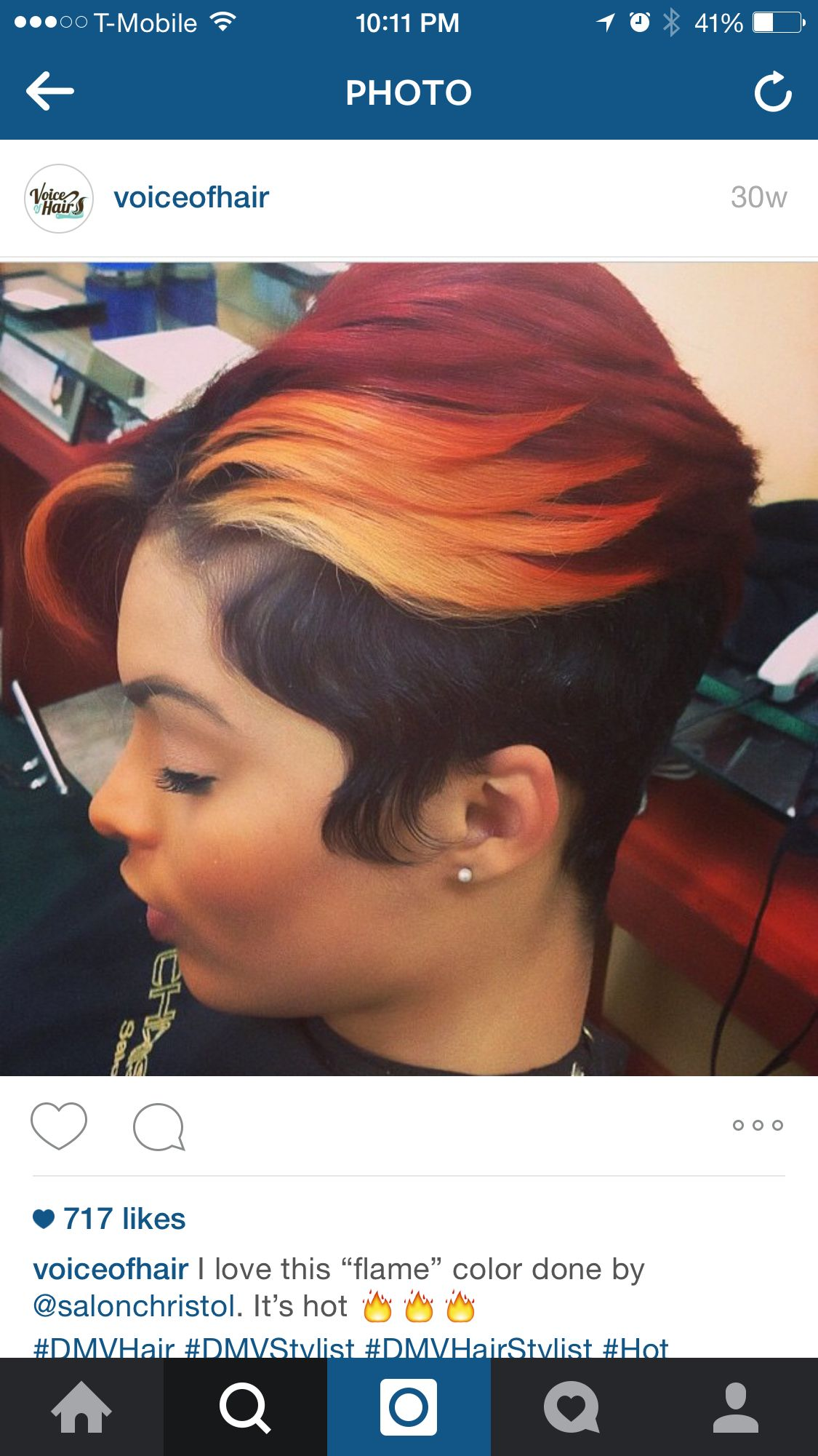 This color is hott hair pinterest shorter hair cuts hair cuts