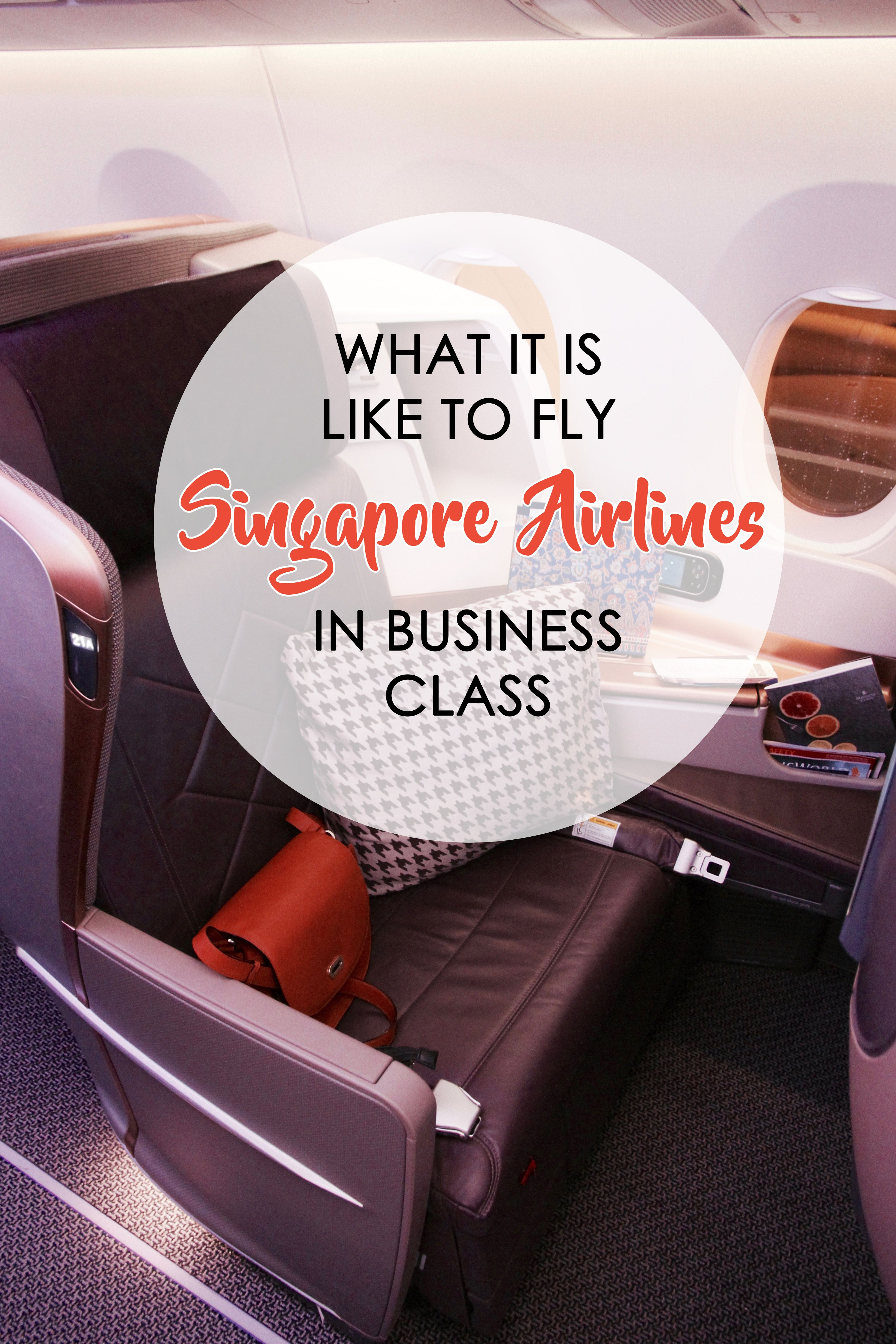 Wondered What It Is Like Flying Business Class With